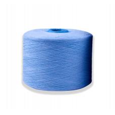 Пряжа х/б синяя 11,5S