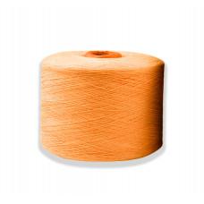 Пряжа х/б оранжевая 11,5S